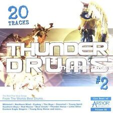 FREE US SHIP. on ANY 2 CDs! NEW CD : Thunder Drums Volume 2 - The Best Pow Wow S