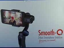 Smooth-Q 3-Achsen Smartphone-Gimbal mit 360° Rotation Zoomsteuerung Camera-App