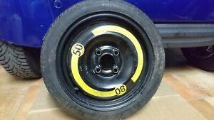 1 RUOTINO RUOTA SCORTA SPARE WHEEL VW POLO GOLF LUPO 105/70 r14 84M  60443