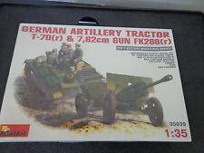 Mini Art 1/35 35039 Wwii German Artillery TracTor T-70(r), 7.62cm Fk2 New Sealed