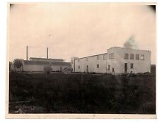 Vintage 1930s  B&W Photo West Bend WI Cannery Exterior View