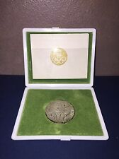 1964 Tokyo XVIII Olympiad .925 SILVER Medal XVIII Olympic Games in Orig. Case