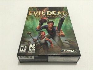 Evil Dead Regeneration **THQ** USA PC Small Box Survival Horror Comedy sealed