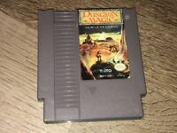 Dungeon Magic Nintendo Nes Cleaned & Tested Authentic