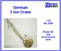 German 3 ton Crane WWII 1/35