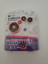 Donut Ear Buds With Microphone Childrens