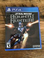 PS4  Star Wars Bounty Hunter PlayStation 4 Complete.