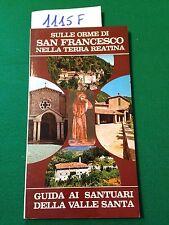 SULLE ORME DI SAN FRANCESCO NELLA TERRA REATINA  -  LIVONI  -  1980