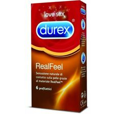 Preservativi DUREX Real Feel Anallergici Profilattici senza lattice Anallergico