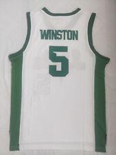 Vintage Cassius Winston #5 Basketball Jerseys All Stitched Custom Any Names