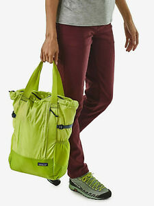 NEW Patagonia Lightweight Travel Tote Pack Celery Green  RETIRED