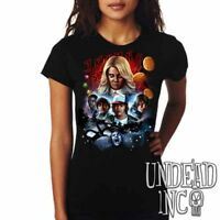 Stranger Things - Eleven Barb Dustin Will Mike Lucas - Ladies T Shirt