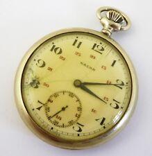 Antique Swiss Nacar   Mechanical Pocket Watch