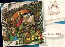 Bel età Advent Calendario Krüger con Busta > Angelo RENNA SLITTA 60er