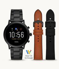 Fossil The Carlyle HR Gen 5 44mm Case Men's Bracelet/Link Band Smart Watch -...