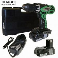 Hitachi DS18DFL DS 18DFL Akkuschrauber + UB18DL Lampe 93104727 im Koffer! NEU!