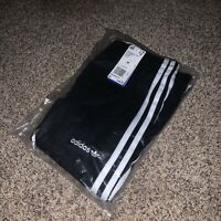 MEDIUM Adidas Black and White Palmeston Track Pants Men's