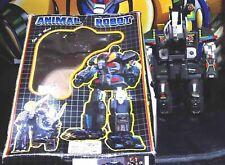 ANIMALS ROBOT ONE 3 TRANSFORMERS TAIWAN VINTAGE 1983,MAMMUTH ELEPHANT beast,wars