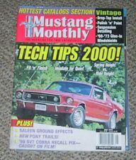 MUSTANG MONTHLY 2000 MAY - COBRA, SALEEN, REPAIR TIPS