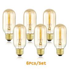 Edison Light Bulbs 6cs Vintage 40 Watt E26 Dimmable Incandescent Decorate Bulbs
