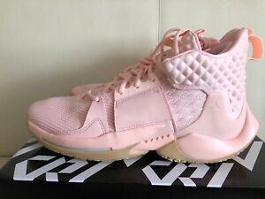 Air Jordan WHY Not ZerO.2 Cotton Shot  AO6219-600 Pink Basketball Shoes Sneakers