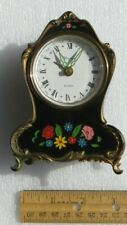 """Vintage Bakelite Alarm Clock Music Box West Germany""""Oh What a Beautiful Morning�"""