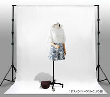 10 x 10 Ft 100% Cotton White Muslin Backdrop Photo Studio Photography Background