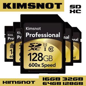 Kimsnot Professional 600x SD Card 16GB 32GB SDHC SDXC Card 64GB 128GB