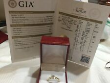 diamond  14k yellow gold engagement ring .36ct VVS2 clarity G color