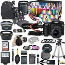Canon EOS 90D DSLR Camera Deluxe Video Kit with Canon 18-55mm STM Lens