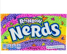 X12 Boxes Rainbow Nerds (141g each Box) American Candy - FREE SHIPPING