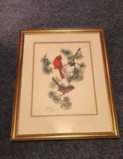 Anne Worsham Richardson 1919-2012)Limited Edition Signed No. 1065/2500 Cardinals