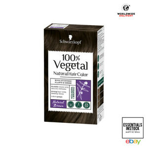 Schwarzkopf 100% Vegetal Hair Colour Natural Brown