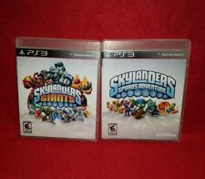 Skylanders Ps3 Lot! Giants & Spyro's Adventures (Playstation 3, 2011/2012)