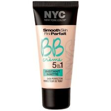 New York Color Smooth Skin BB Creme Matte Foundation, Light 1 oz