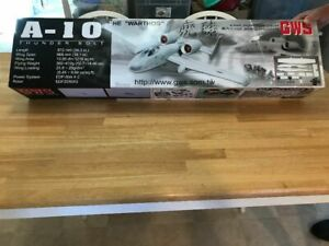 New R/C GWS A-10 Warthog - Thunder Bolt II Warbird ARF Kit + Ducted Fans