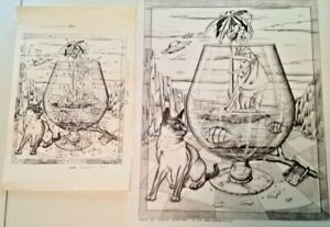 * ARTEX 2254 Titled Vision Too 16x20 Siamese Cat  Picture to paint (tri chem)