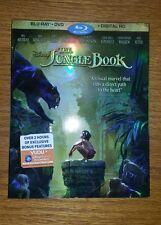 Disney, The Jungle Book (Blu-ray/DVD, 2016, Includes Digital Copy)
