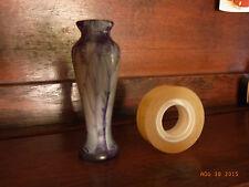 ANCIEN VASE PATE DE VERRE MINIATURE DEB XXè / OLD MINIATURE MOLTEN GLASS VASE