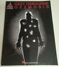 OZZY OSBOURNE OZZMOSIS GUITAR TAB SONGBOOK TABLATURE MUSIC BOOK