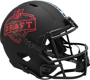 2021 NFL Draft Riddell Black Matte Speed Replica Helmet