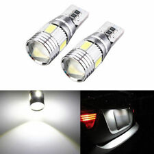 2x T10 501 194 W5W 5630 LED 6SMD HID Canbus Error Free Wedge Car Light Bulb Lamp