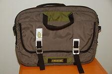 Timbuk2 15 in wide Laptop Bag Green Black Grey Metal Hooks