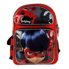 """Nickelodeon Miraculous Ladybug 16"""" inches School Backpack - Licensed Product"""