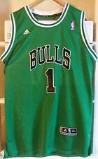 Derrick Rose Chicago Bulls Green St Patty's Day Adidas Swingman Jersey Size XXL