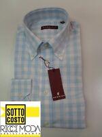 Outlet -75% 32 - 0 Camicia uomo  shirt chemise camisa hemd rubashka  3200540041