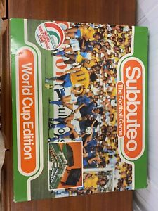 Subbuteo Mexico 86 World Cup Edition Inc West Germany,Argentina & England Team