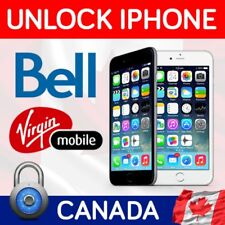 BELL VIRGIN SEMI PREMIUM FACTORY UNLOCK SERVICE FOR IPHONE 7+ 7 6S+ 6S 6+ 6 5SE