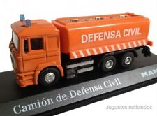MAN CISTERNA AGUA DEFENSA CIVIL CAMION TRUCK DIECAST 1/72