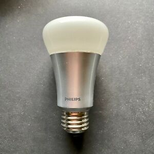 Philips Hue White and Color Ambiance A19 Smart LED Bulb Multicolor Bluetooth
